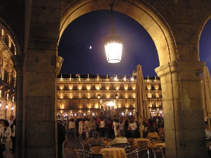 Arco de la Plaza Mayor de Salamanca